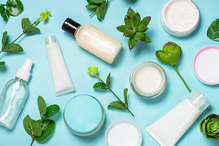 Skincare Bottles and Jars